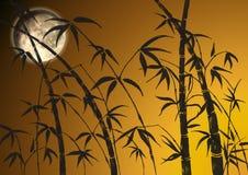 Zweige eines Bambusses lizenzfreie abbildung