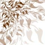Zweige und Blätter Lizenzfreie Stockbilder