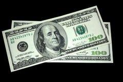 Zweihundert Dollar Lizenzfreie Stockfotos