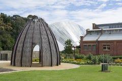 Zweihundertjähriges Konservatorium und Hütte, Adelaide Botanic Garden, Sout Stockfotos