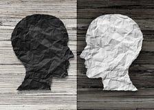 Zweipolige psychische Gesundheit stock abbildung