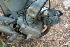 Zweitaktmotor circa mittleren von 1960 klassisch und von Weinlese Yamaha-Motorrad stockfotografie
