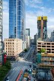 Zweite Allee in Seattle Lizenzfreies Stockbild