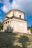 Zweite Kapelle bei Sacro Monte di Varese Italien Stockfotos