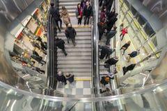 Zweite Linie von Warschau-U-Bahn syste Stockfotos