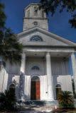 Zweite Presbyterianische Kirche Charleston South Carolina lizenzfreies stockbild
