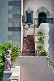 Zweiter Geschichteeingang Powel Crosleys zur Villa Lizenzfreie Stockfotografie