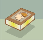 An zweiter Stelle Brain Connected Illustration Extra Brain stock abbildung