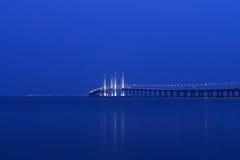 An zweiter Stelle Penang-Brücke Stockfotografie