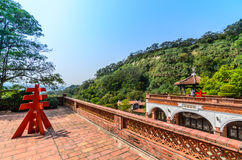 Zweiter Stock von dem nanyuan: Land des Rückzugs und des Wellness stockbilder