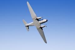 Zweiter Weltkrieg Dakota an einer Flugschau Lizenzfreie Stockfotografie