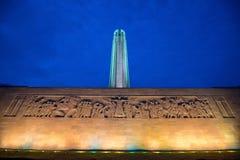 Zweiter Weltkrieg nationales Erinnerungs-Kansas City, MO stockfotos