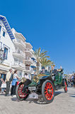 zweites Phasenrennen 54. Sammlungs-Barcelonas-Sitges. Stockbild