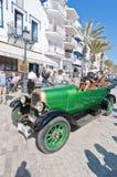zweites Phasenrennen 54. Sammlungs-Barcelonas-Sitges. Lizenzfreie Stockfotos
