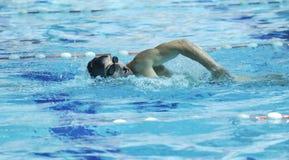 Zwem pool Royalty-vrije Stock Afbeeldingen
