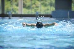 Zwem pool stock afbeeldingen