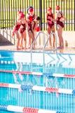 Zwem samenkomen Royalty-vrije Stock Afbeeldingen