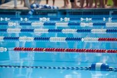 Zwem Stegen Royalty-vrije Stock Afbeeldingen