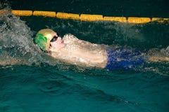 Zwem vergadering Jovanca Micic 2012 Royalty-vrije Stock Afbeelding