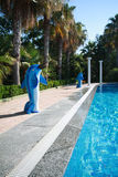 Zwembad Stock Fotografie