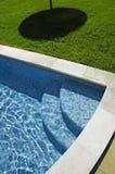 Zwembad 4 van het hotel stock afbeelding