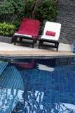 Zwembad. Stock Afbeeldingen