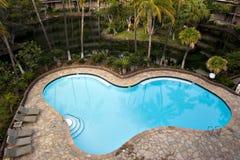 Zwembad bij Toevlucht royalty-vrije stock foto's