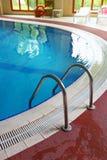 Zwembad, binnen Stock Fotografie
