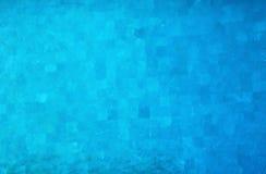 Zwembad blauwe achtergrond stock foto's