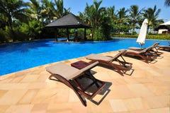 Zwembad in Boao 1 Royalty-vrije Stock Foto's