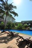 Zwembad in Boao 2 Royalty-vrije Stock Foto's