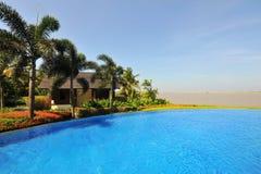 Zwembad in Boao 5 Royalty-vrije Stock Fotografie