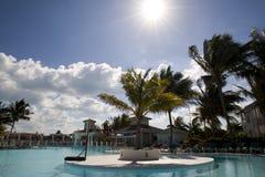 Zwembad in Cuba royalty-vrije stock fotografie