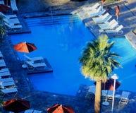 Zwembad in de Ochtend Stock Foto's