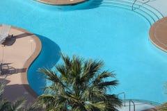 Zwembad in Las Vegas, Nevada Royalty-vrije Stock Afbeeldingen