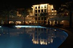 Zwembad met hoogtepunten Royalty-vrije Stock Afbeelding