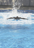 Zwembad opleiding Royalty-vrije Stock Afbeeldingen