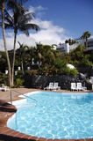 Zwembad in Tenerife Royalty-vrije Stock Foto