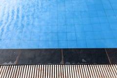Zwembadachtergrond Stock Afbeelding