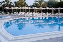 Zwembadgebied Royalty-vrije Stock Foto's