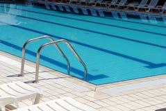 Zwembadladder Royalty-vrije Stock Afbeelding
