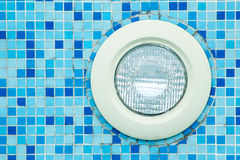 Zwembadlicht royalty-vrije stock foto's