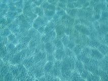 ZwembadPatronen in water Royalty-vrije Stock Foto