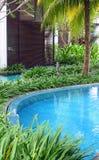 Zwembadrand royalty-vrije stock fotografie