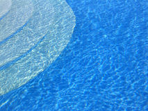 Zwembadstappen Stock Afbeelding