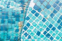 Zwembadtextuur Stock Afbeeldingen