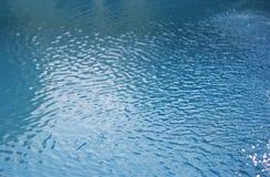 Zwembadwater Stock Foto's