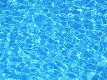 Zwembadwater. Textuur Royalty-vrije Stock Afbeelding