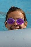 Zwemmend jong geitje Royalty-vrije Stock Afbeeldingen