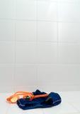 Zwemmende achtergrond Stock Fotografie